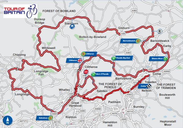 Places to watch the Tour of Britain Stage 2