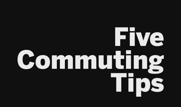 Five tips for safe commuting