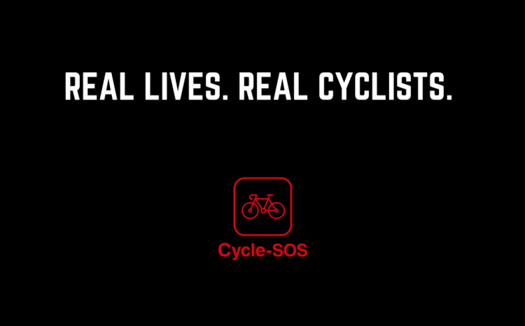 Cycle SOS introduces: Real Lives. Real Cyclists.