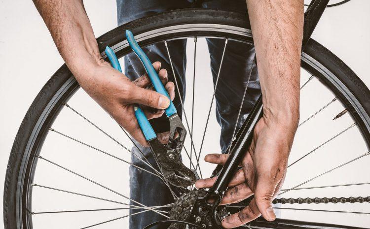 Winter bike maintenance
