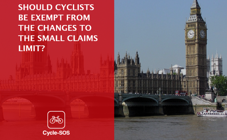 Proposed changes to the Small Claims Limit and cyclists