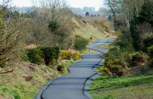 Take the kids cycling on the Comber Greenway