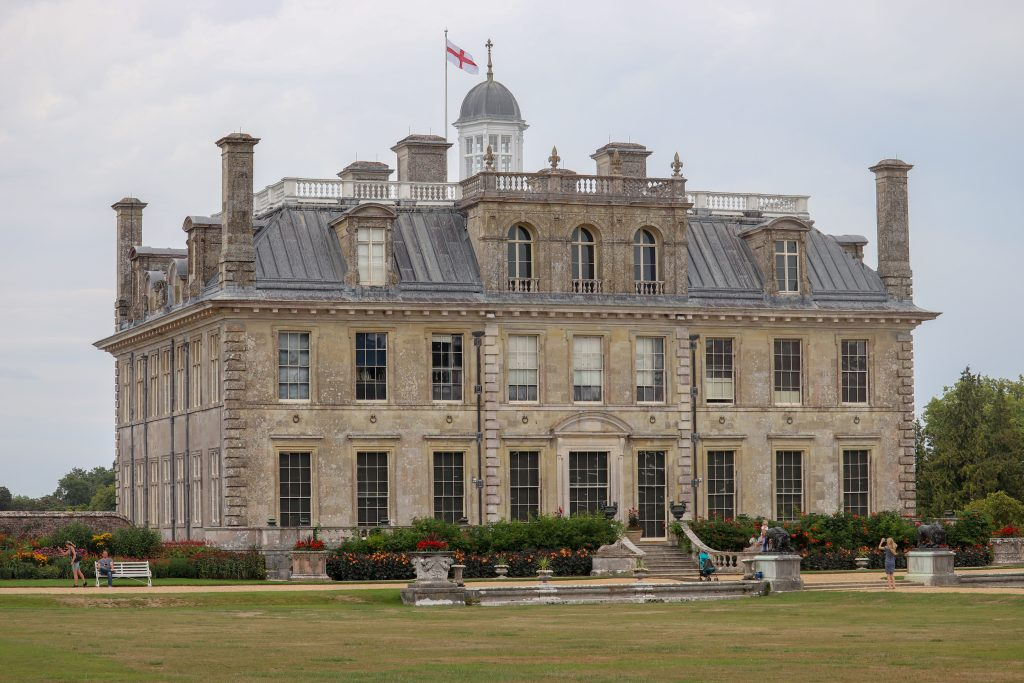 palace at Kingston Lacy, great place to take the kids for a bike ride