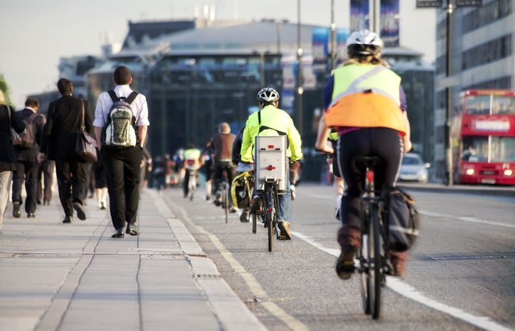 One third of commuters to switch to cycling