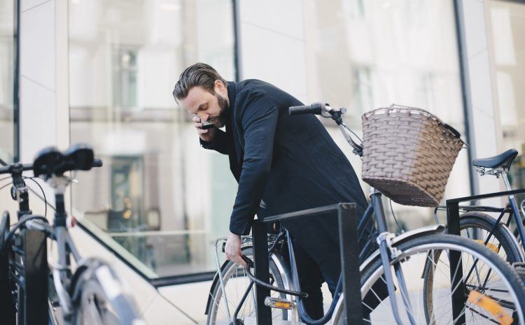 How to safely lock-up your bike