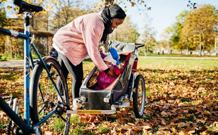 How to enjoy cycling with children – babies and toddlers