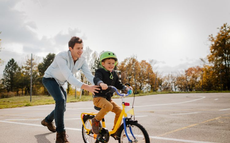 Teach your child bike confidence with advice from Cycle SOS consultant solicitor Paul Darlington